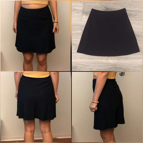 005244b448 GAP Skirts | Aline Mini Skirt Black | Poshmark